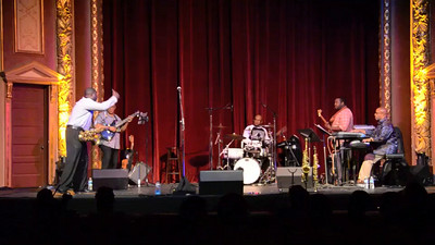 Eric Marner & Brave New World 3 - at  2014 Yorkfest Saturday night Jazz Concert in the beautiful Strand-Capitol Theater in York, PA.