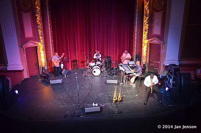 "Eric Marner & Brave New World - Ron Thompson (guitar), Eric Marner (sax), Sam Marshall (drums) Keith ""Sandman"" Sands (bass), Greg Douglas (kbd)"