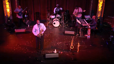 Eric Marner & Brave New World 2 - at  2014 Yorkfest Saturday night Jazz Concert in the beautiful Strand-Capitol Theater in York, PA.