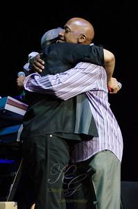 Al Jarreau and Jeff Osbourne
