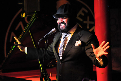 Gregory Porter performs at Pizza Express - 10/02/12