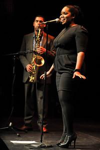 Zara McFarlane performs at The Bloomsbury Theatre - 14/06/12