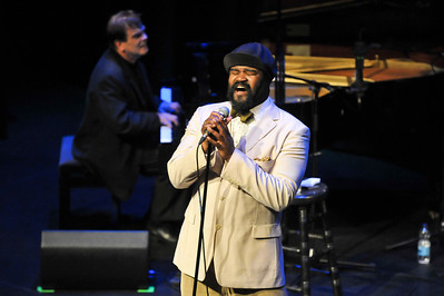 Gregory Porter performs at The Bloomsbury Theatre - 14/06/12