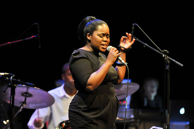 Zara McFarlane performs at The Bloomsbury Theatre - 14/06/12