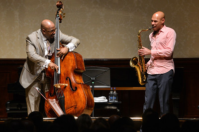 Joshua Redman & Christian McBride perform at Wigmore Hall, London - 11/05/13