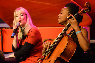 Ayanna & Gwyneth Herbert perform at Elgar Room, RAH - 13/11/12