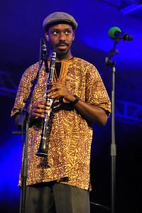 Shabaka Hutchings performs at The Clore Ballroom, Royal Festival Hall during LJF 2010 - 20/11/10