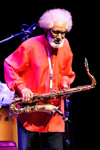 Sonny Rollins performs at The Barbican during London Jazz Festival 2010 - 20/11/10