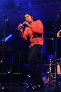 Arun Ghosh performs at The Clore Ballroom, Royal Festival Hall during LJF 2010 - 20/11/10