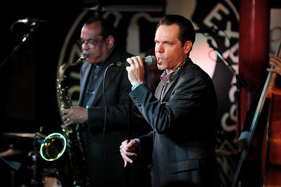 Kurt Elling performs at Pizza Express, Soho - 14/11/09