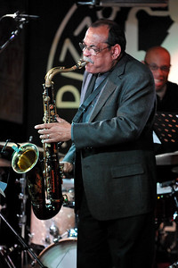 Ernie Watts performs at Pizza Express, Soho - 14/11/09