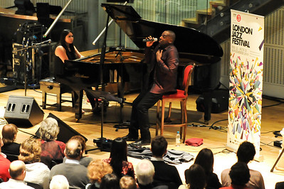 Cleveland Watkiss & Nikki Yeoh perform at The Royal Opera House during London Jazz Festival 2010 - 14/11/10