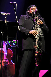 Courtney Pine performs at The London Jazz Festival 2010 - 15/11/10