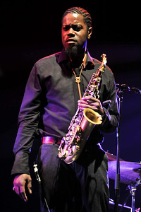 Soweto Kinch performs at Queen Elizabeth Hall during London Jazz Festival 2010 - 18/11/10