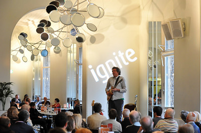 John Etheridge performs at Cafe Consort, Royal Albert Hall during London Jazz Festival - 17/11/10