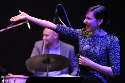 Giorgia Mancio performs during London Jazz Festival 2011 - 11/11/11