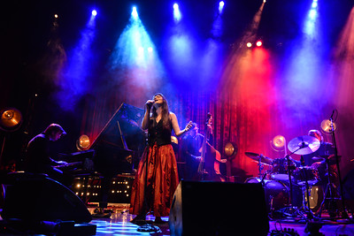 Elina Duni performs at Queen Elizabeth Hall - 19/11/13