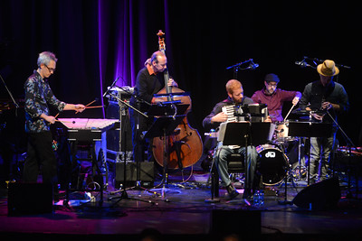 John Hollenbeck Claudia Quintet perform at the Purcell Room - 23/11/13