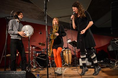 Celine Bonacina performs at The South Bank Centre - 15/11/13