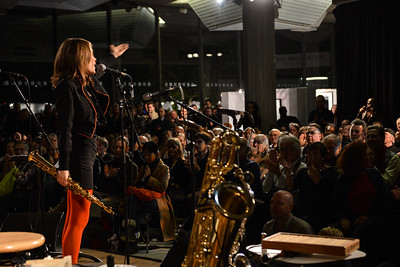 Celine Bonacina performs at The South Bank Centre - 15/11/13
