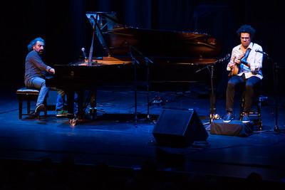 Stefano Bollani & Hamilton de Holanda perform at London Jazz Festival 2014 - 20/11/14