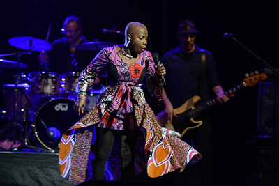 Angélique Kidjo performs at London Jazz Festival 2014 - 14/11/14