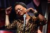 China Moses performs at London Jazz Festival 2014 - 16/11/14