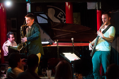 Janek Gwizdala Group perform at Pizza Express Jazz Club - 12/11/12