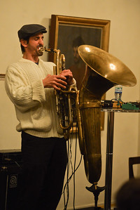 Byron Wallen & Oren Marshall perform at the Royal Academy - 10/11/12