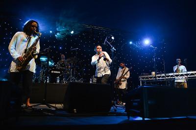 Arun Ghosh performs at Love Supreme 2013 - 06/07/13