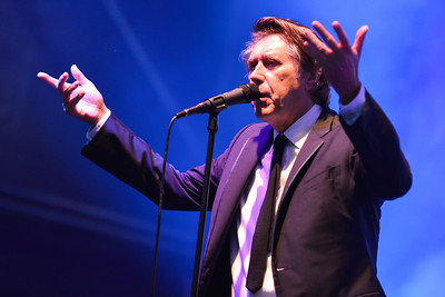Bryan Ferry Orchestra perform at Love Supreme 2013 - 06/07/13