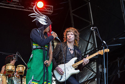 Brand New Heavies  perform at Love Supreme 2013 - 07/07/13