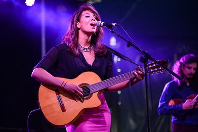 Chloe Charles performs at Love Supreme Festival 2014 - 06/07/14