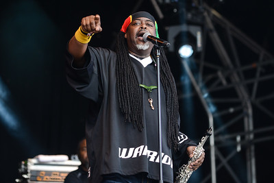 Courtney Pine performs at Love Supreme Festival 2014 - 06/07/14