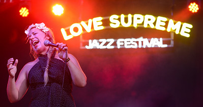 Cecilia Starlin performs at Love Supreme Festival 2014 - 06/07/14