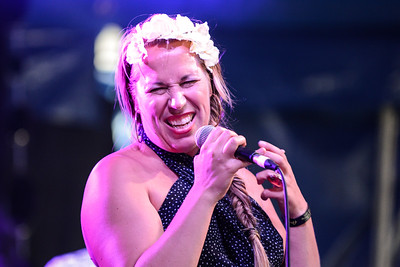 Cecilia Starlin performs at Love Supreme Festival 2014 - 06/07/14