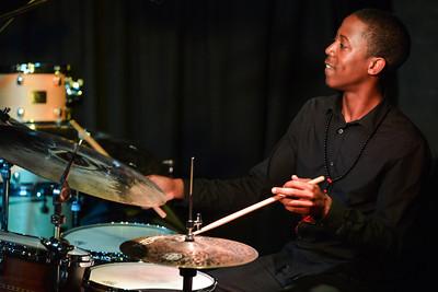 Moses Boyd Quintet perform at Pizza Express Jazz Club - 02/06/13