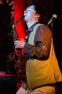 Zhenya Strigalev performs at Pizza Express Jazz Club, Soho - 17/05/13