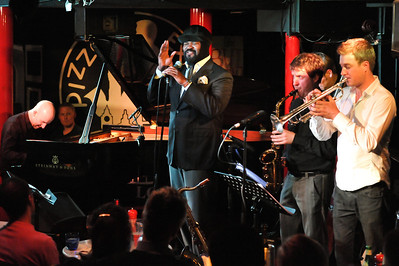 Gregory Porter performs at Pizza Express Jazz Club, Soho - 08/10/11