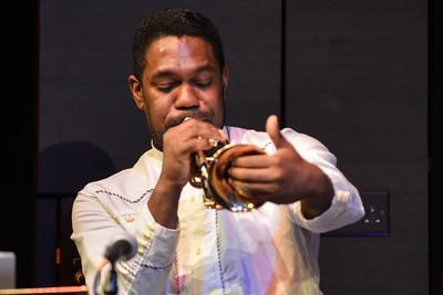 Byron Wallen Quartet perform at St James Theatre, London - 01/02/13