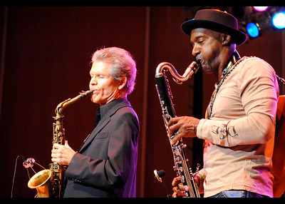 David Sanborn and Marcus Miller