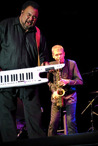George Duke and David Sanborn