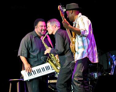 George Duke, Marcus Miller and David Sanborn