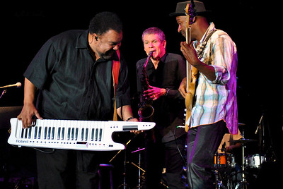 George Duke, David Sanborn and Marcus Miller