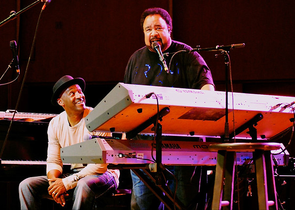 Marcus Miller and George Duke