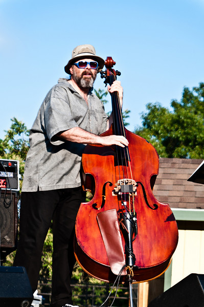 Marty Ballou Playing opener of Ecotarium's Jazz @ Sunset. 20th Annual, 2010