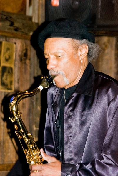 Charles Neville, of the legendary New Orleans Neville Brothers Band