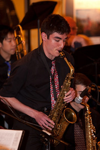 Jazz@Winberie's - The Ridgewood High School Jazz Lab and Jazz Band returned to Winberie's to perform with guest soloist Dave Bargeron and others