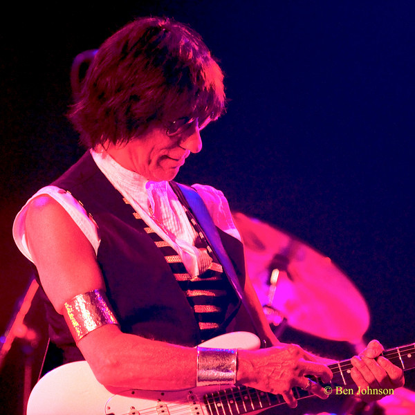 Jeff Beck performing at The Borgata Hotel in Atlantic City New Jersey, June 5, 2010