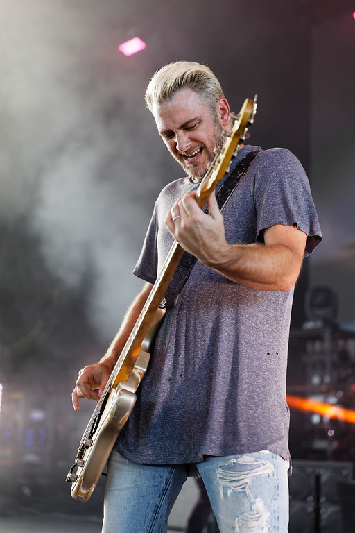. Bush  live at Michigan Lottery Amphitheatre on 7-24-2018.  Photo credit: Ken Settle
